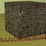 Brick Old Overgrown 01